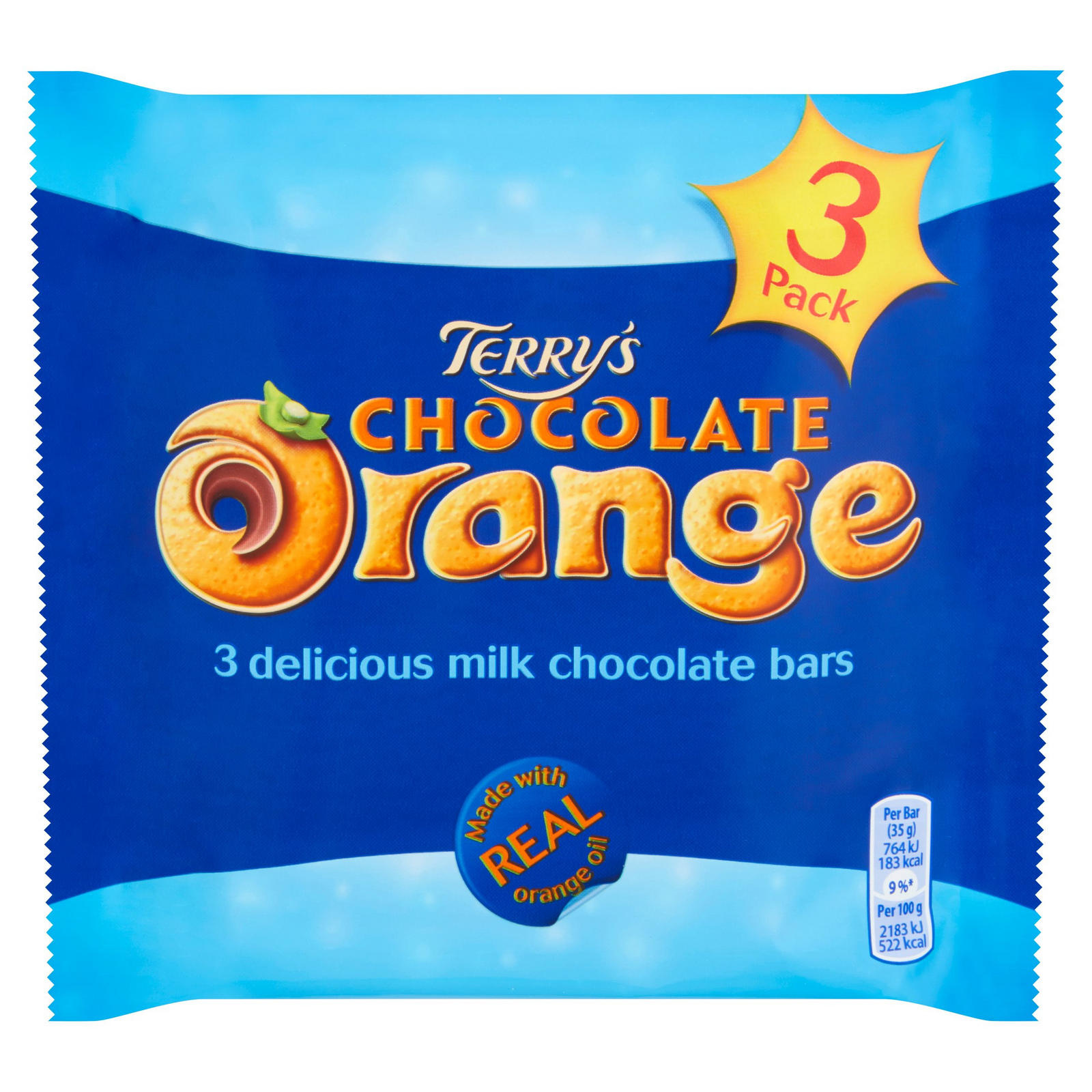 Terry's Terry's - Chocolate Orange Bar 3 Pack