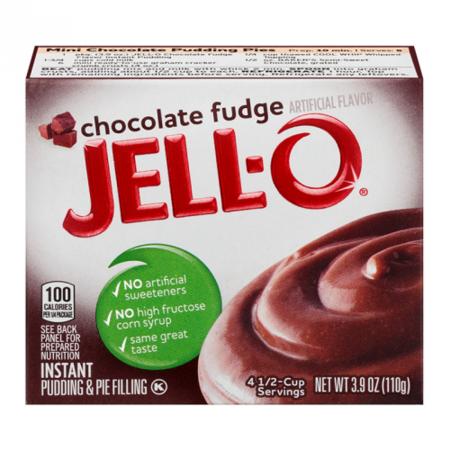 Jell-O Jell-O - Chocolate Fudge Pudding Mix 110 Gram