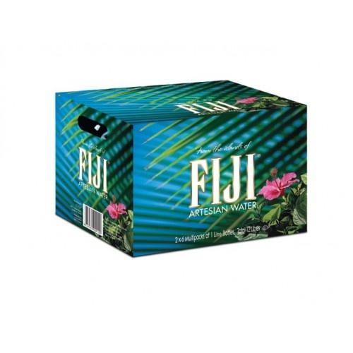Fiji FIJI Natural Artesian Bottled Water 1 Liter 12 Stuks