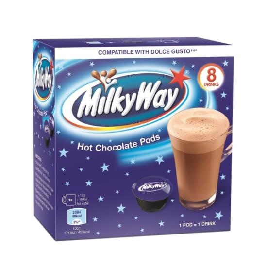 Dolce Gusto Dolce Gusto - Milky Way Chocolate Pods 8 Stuks