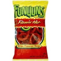 Funyuns - Flaming Hot Onion Rings 163 Gram