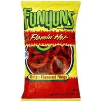 Funyuns Funyuns - Flaming Hot Onion Rings 163 Gram