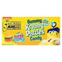 Spongebob Squarepants Gummy Krabby Patties 72 Gram