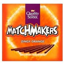 Nestle - Quality Street - Matchmakers Orange 120 Gram