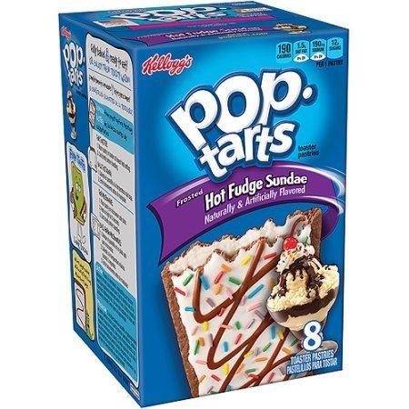 Pop-Tarts Kellogg's Pop-Tarts Hot Fudge Sundae 384 Gram