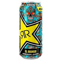 Rockstar - Baja Juiced Mango 500ml