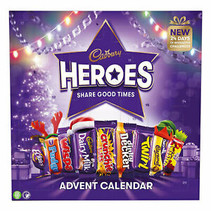 Cadbury - Heroes Advent Calendar 230 Gram