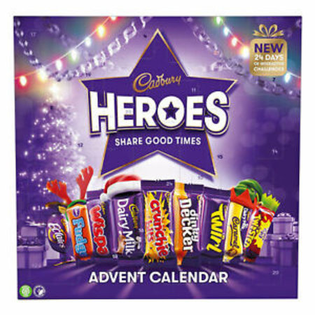 Cadbury Cadbury - Heroes Advent Calendar 230 Gram