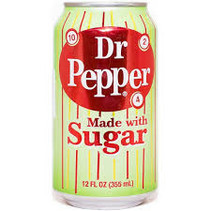 Dr Pepper - Made With Sugar 355ml