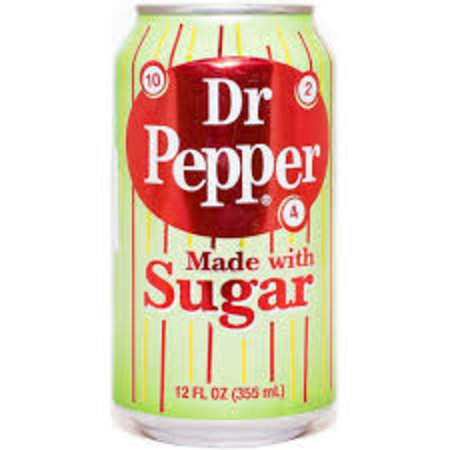 Dr Pepper Dr Pepper - Made With Sugar 355ml