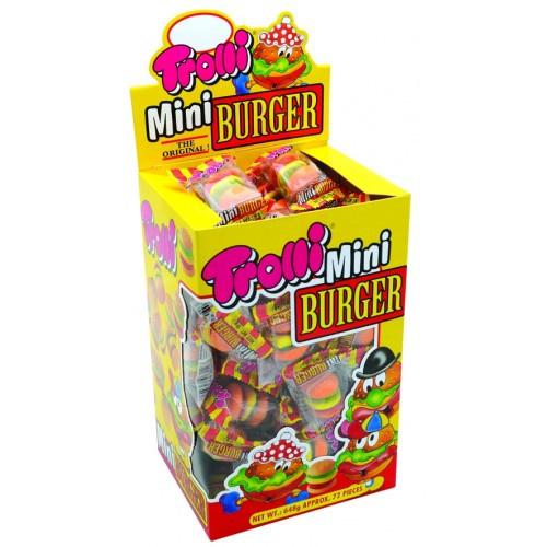 Trolli Trolli Mini Burger 9 Gram - 72 Stuks