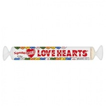 Swizzels - Giant Love Hearts 39 Gram