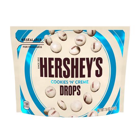 Hersheys Hershey's - Cookies 'N' Creme Drops Pouch 215 Gram