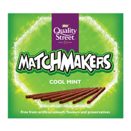 Quality Street Nestle - Quality Street - Matchmakers Cool Mint 120 Gram