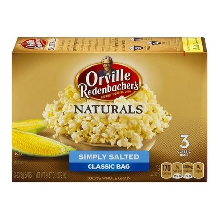 Orville Redenbacher Orville Redenbacher - Simply Salted 279 Gram