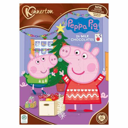 Overige Kinnerton - Peppa Pig Advent Calendar 40 Gram