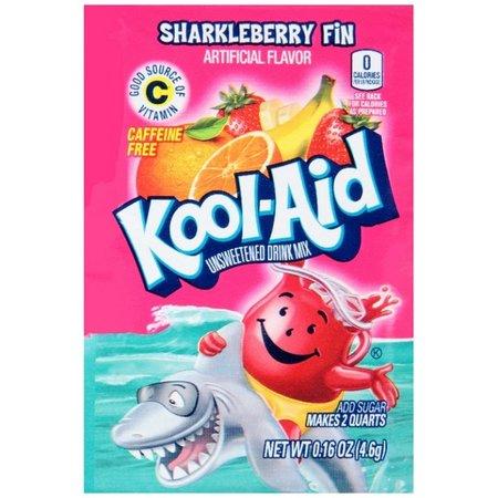 Kool Aid Kool Aid - Sharkleberry Fin Sachet 4,6 Gram
