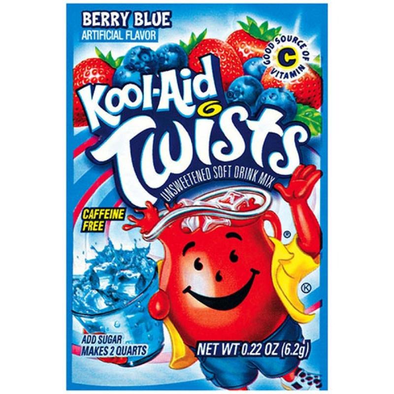 Kool Aid Kool Aid - Mixed Berry Blue Twist 6,2 Gram