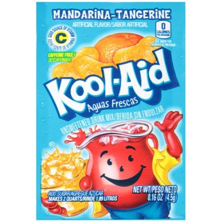 Kool Aid Kool Aid - Mandarina-Tangerine Sachet 4,5 Gram