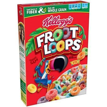 Kelloggs Kellogg's Froot Loops 417 Gram