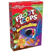 Kellogg's Froot Loops Cereal With Marshmallows 297 Gram