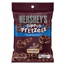 Hershey's - Milk Chocolate Dipped Pretzels 120 Gram