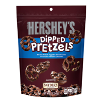 Hershey's - Milk Chocolate Dipped Pretzels 240 Gram