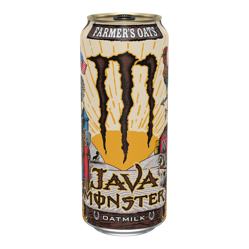 Monster Monster - Java Oatmilk Farmer's Oats 443ml