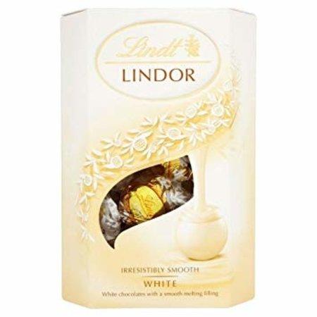Lindt Lindt - Lindor White Chocolate Truffles 200 Gram