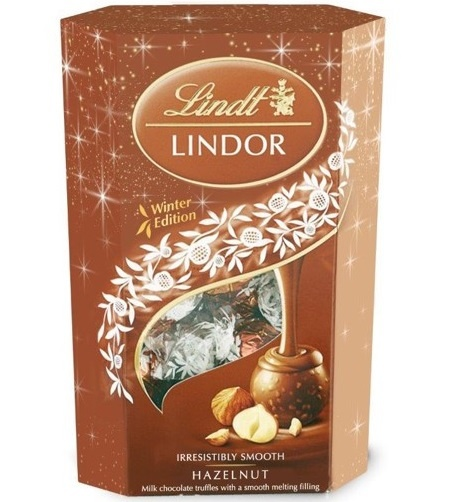 Lindt Lindt - Lindor Hazelnut Truffles 200 Gram