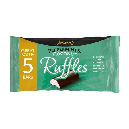 Overige Jameson's - Peppermint & Coconut Ruffles 5-Pack