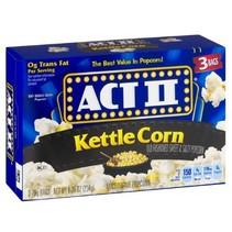 ACT II - Kettle Corn Microwave Popcorn 234 Gram