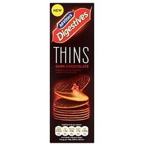 Mcvities Digestive - Thins Dark Chocolate 180 Gram
