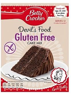 Betty Crocker Betty Crocker - Gluten Free Devil Food Cake 425 Gram