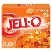 Jell-O - Orange 85 Gram