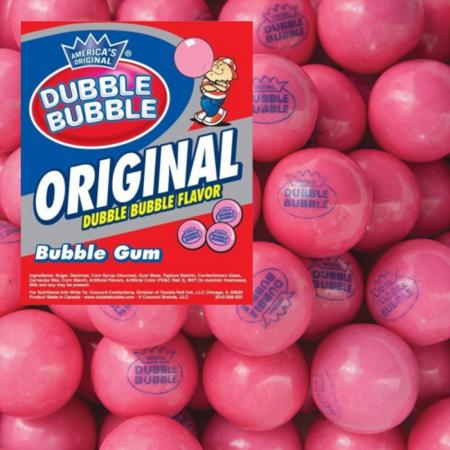 Dubble Bubble Dubble Bubble - Original All Pink 1 Kilo