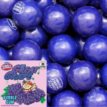 Dubble Bubble Dubble Bubble - Grape Gumballs 1 Kilo