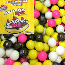 Dubble Bubble - Banana Split Gumballs 1 Kilo