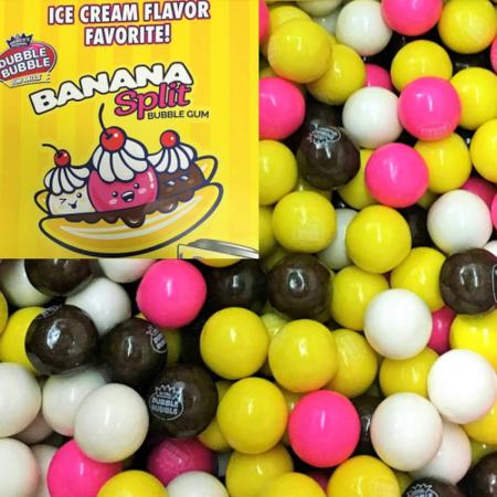 Dubble Bubble Dubble Bubble - Banana Split Gumballs 1 Kilo