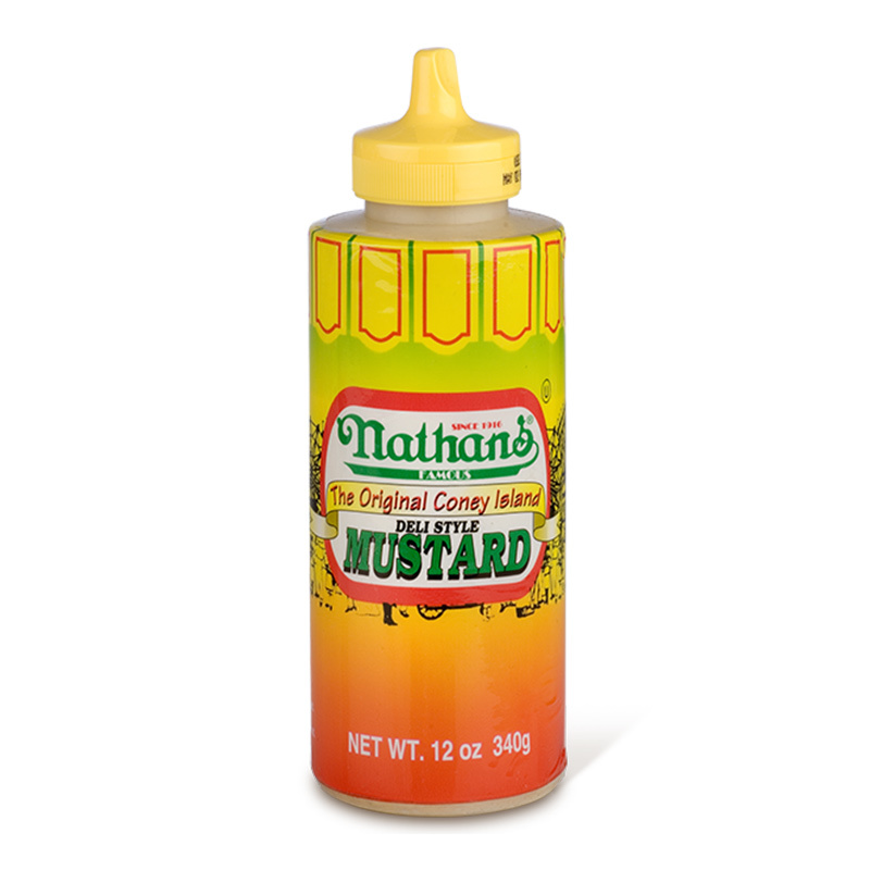 Nathan's Nathan's - Famous Coney Island Deli Style Mustard 340 Gram