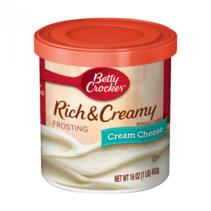 Betty Crocker - Rich & Creamy Cream Cheese Frosting 453 Gram