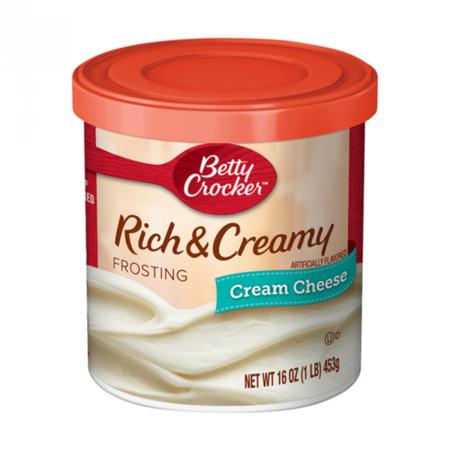 Betty Crocker Betty Crocker - Rich & Creamy Cream Cheese Frosting 453 Gram