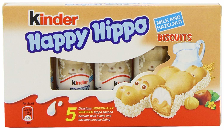 Kinder Kinder - Happy Hippo Hazelnut 5-Pack