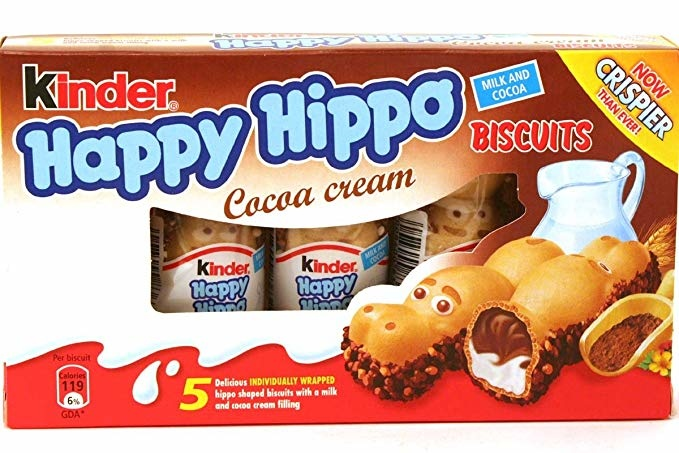 Kinder Kinder - Happy Hippo Cocoa Cream 5-Pack
