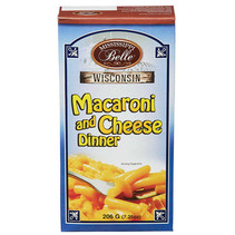 Mississippi Belle  Wisconsin - Macaroni and Cheese Dinner 206 Gram