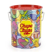 Chupa Chups - Blik The Best Off 150 Lolly's 6 Blikken