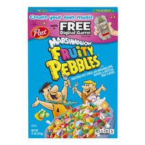 Post - Marshmallow Fruity Pebbles Cereal 311 Gram
