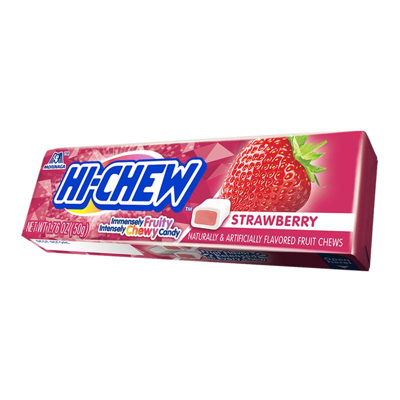 Hi-Chew Hi-Chew - Fruit Chews Strawberry 50 Gram