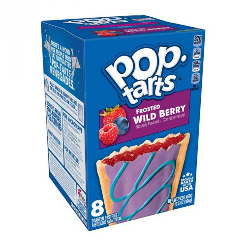 Pop-Tarts PopTarts - Frosted Wild Berry 384 Gram