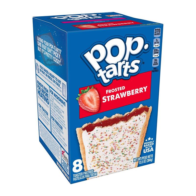 Pop-Tarts PopTarts - Frosted Strawberry 384 Gram